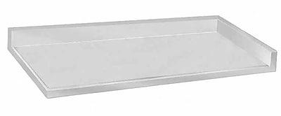 Advance Tabco Counter Top w/ Backsplash; 1.5'' H x 84'' W x 24'' D