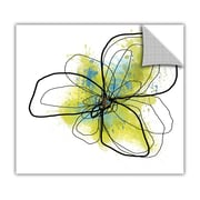 ArtWall ArtApeelz 'Citron Petals II' by Jan Weiss Graphic Art Removable Wall Decal
