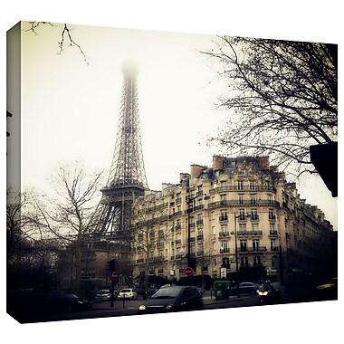 ArtWall 'Paris' by John Black Photographic Print on Wrapped Canvas; 36'' H x 36'' W