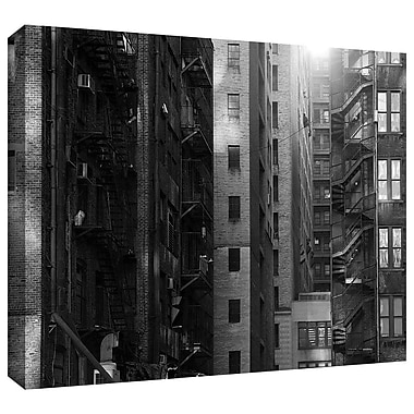 ArtWall 'Buildings' by John Black Photographic Print on Wrapped Canvas; 32'' H x 48'' W