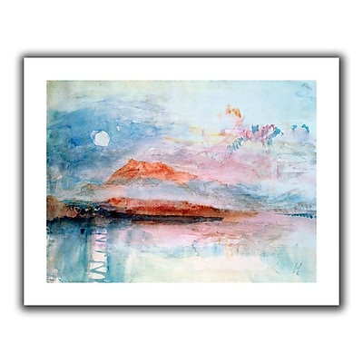 ArtWall 'Righi, after 1830' by William Turner Painting Print on Wrapped Canvas; 28'' H x 36'' W