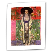 ArtWall Adele Bloch Bauer by Gustav Klimt Painting Print on Rolled Canvas; 16'' H x 24'' W