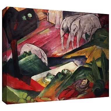 ArtWall 'The Dream' by Franz Marc Painting Print on Wrapped Canvas; 36'' H x 48'' W