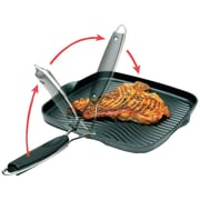 Starfrit 10'' Grill Pan w/ Foldable Handle
