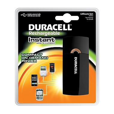 Duracell® Universal Portable Power Bank, 4000 mAh