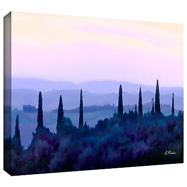 ArtWall 'Tuscan Morn' by Linda Parker Photographic Print on Wrapped Canvas; 24'' H x 16'' W