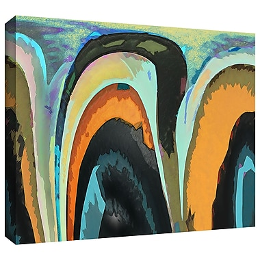 ArtWall 'Bigan' by Dean Uhlinger Graphic Art on Wrapped Canvas; 24'' H x 36'' W