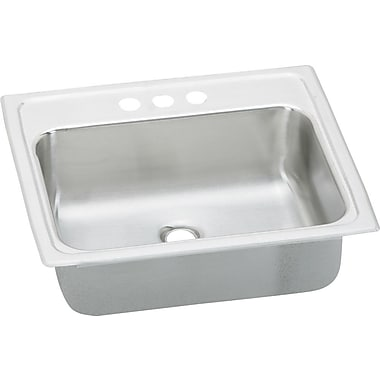 Elkay Asana 19'' x 17'' Kitchen Sink w/ Overflow Assembly; 1 Hole