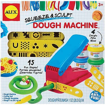 Alex Toys® Squeeze & Sculpt Dough Machine Set