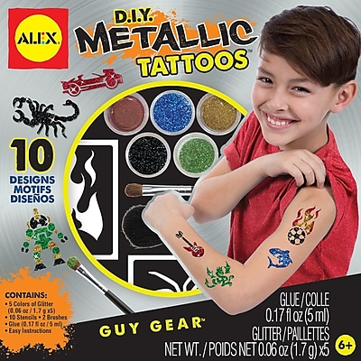 Alex Toys DIY Metallic Tattoos Kit 1546211