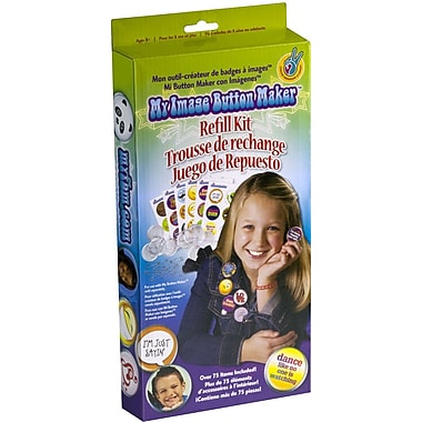 Crorey Creations My Image Button Maker Refill Kit