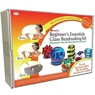 Diamond Tech Crafts Beginner's Essentials Glass Beadmaking Kit