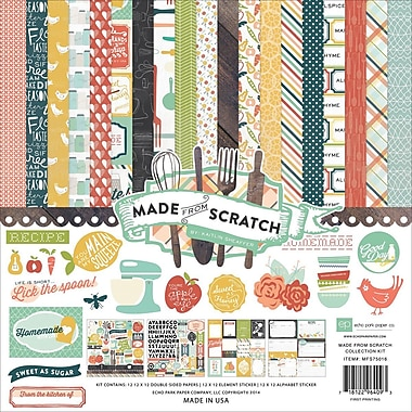 Carta Bella™ Echo Park™ Made From Scratch Collection Kit, 12