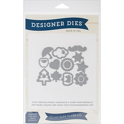 Carta Bella™ Echo Park Paper™ Through The Year Designer Die Set