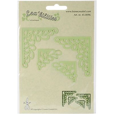 Ecstasy Crafts Lea'bilities Corner Cut & Emboss Die Set