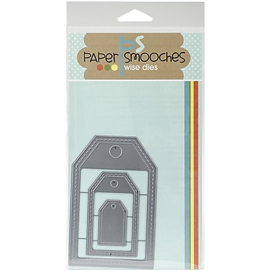 Paper Smooches Gift Tags 2 Die Set
