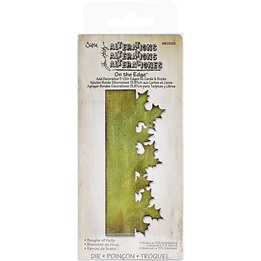 Sizzix® Boughs Of Holly On The Edge Die, 2 3/4