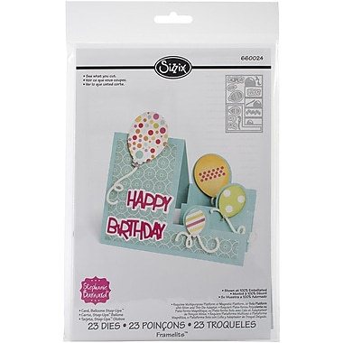 Sizzix® Balloons Step-Ups Card Framelits Die Set