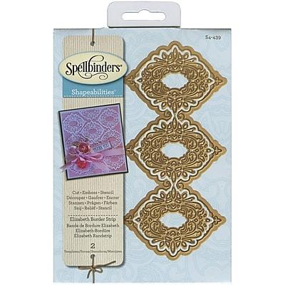 Spellbinders® Elizabeth Border Strip Shapeabilities Die, Cream