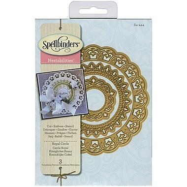 Spellbinders® Royal Circle Nestabilities Die, Purple