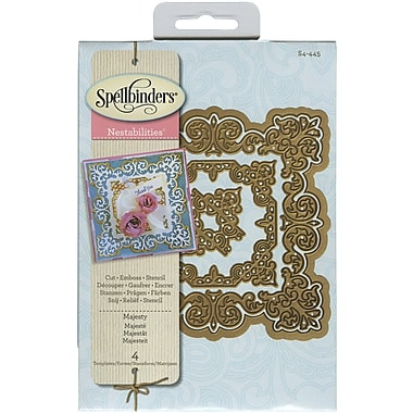 Spellbinders® Majesty Nestabilities Die, Green