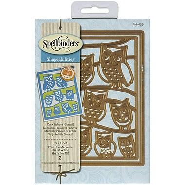 Spellbinders® It's A Hoot Shapeabilities Die, Light Green