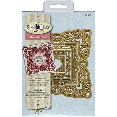 Spellbinders® Labels 42 Decorative Accents Nestabilities Die, Blue