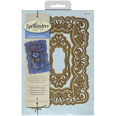 Spellbinders® Heirloom Rectangle Shapeabilities Die, Lavender