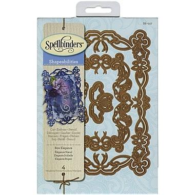 Spellbinders® Bow Elegance Shapeabilities Die, Gray