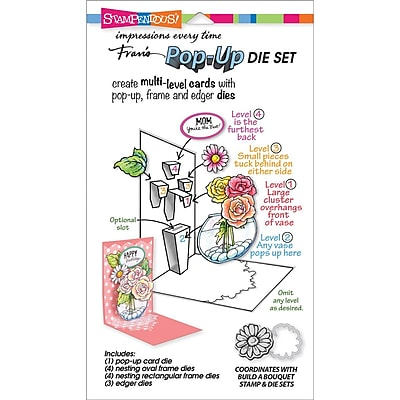 Stampendous® Build A Pop-Up Die Cut Set