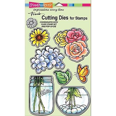 Stampendous® Build A Bouquet Die Cut Set