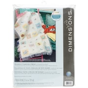 """Dimensions Woodland Creatures Afghan Counted Cross Stitch Kit, 29"""" x 47"""""""
