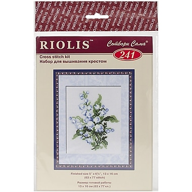 Riolis Lily of the Valley Counted Cross Stitch Kit, 5