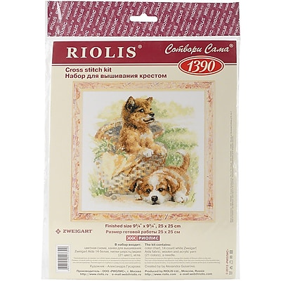 Riolis Tender Age Counted Cross Stitch Kit, 9 3/4