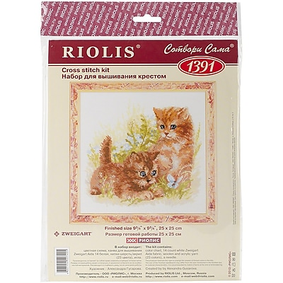 Riolis Child's Play Counted Cross Stitch Kit, 9 3/4