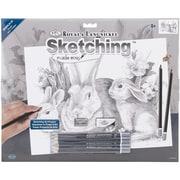 """Royal Brush Bunnies Large Sketching Kit, 16"""" x 12 3/4"""""""