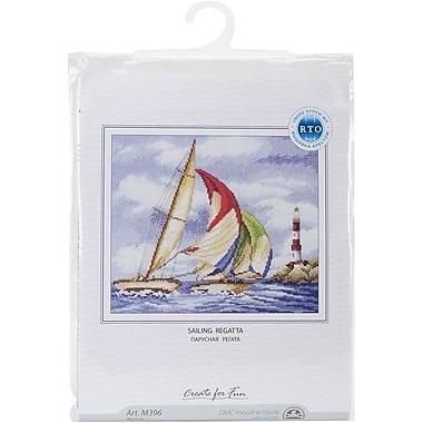 RTO Sailing Regatta Counted Cross Stitch Kit, 11