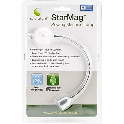 Daylight™ Naturalight LED Sewing Machine Lamp, White & Silver, 7