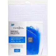"""Grafix® Impress Inking Palette Pad, Clear, 9"""" x 12"""", 25/Pack"""