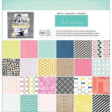 American Crafts™ Best Of Heidi Swapp Paper Pad, 12