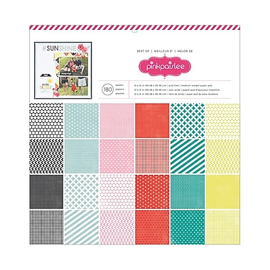 American Crafts™ Best Of Pink Paislee Paper Pad, 12