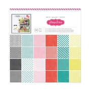 "American Crafts™ Best Of Pink Paislee Paper Pad, 12"" x 12"", 180 Sheets"