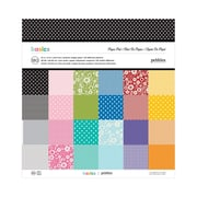 """American Crafts™ Best Of Pebbles Paper Pad, 12"""" x 12"""", 180 Sheets"""