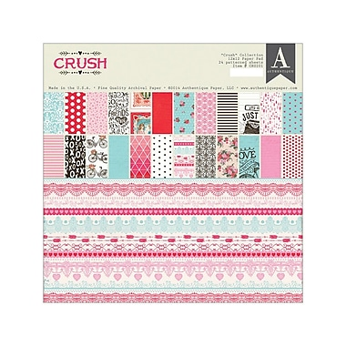 Authentique Paper™ Crush Double-Sided Paper Pad, 12