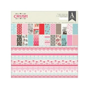 "Authentique Paper™ Crush Double-Sided Paper Pad, 12"" x 12"", 24 Sheets"