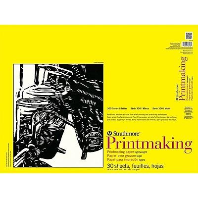 Strathmore Printmaking Paper Pad, 18