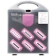 American Crafts™ 368217 Knock Outs Border Punch Value Kit, Pink, #2