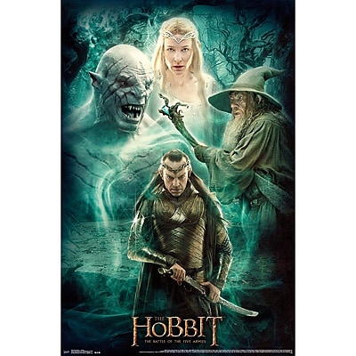 Trends International® The Hobbit 3™ Collage Poster, 22