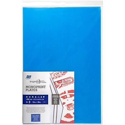 Grafix® Dura-Lar® Impress Monoprint Plate, Clear, 12