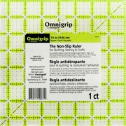 """Dritz® Omnigrip Non-Slip Quilter's Ruler, 7 1/2"""" x 7 1/2"""""""